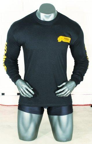 Voodoo Tactical T- Shirt Long Sleeve Skull Sniper Scharfschütze (Black, L)