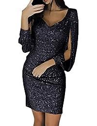 77ff5b0d102f Amazon.it  Maniche Tre Quarti - Nero   Vestiti   Donna  Abbigliamento