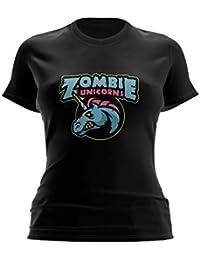 Movistar Riders Zombie Unicorns, Camiseta para Mujer
