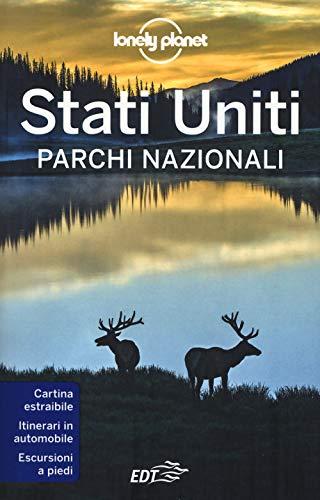 Stati uniti. parchi nazionali. con carta estraibile