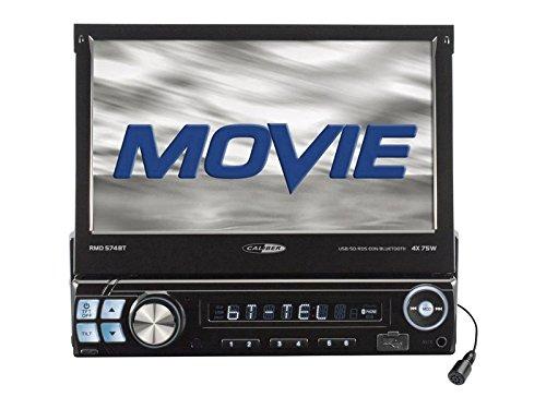 Caliber Radio Auto 1 DIN ausfahrbar Bluetooth ohne Laufwerk passend für Toyota Lexus IS 300 (XE1) 01 > 05 (Navigation Upgrade Lexus)