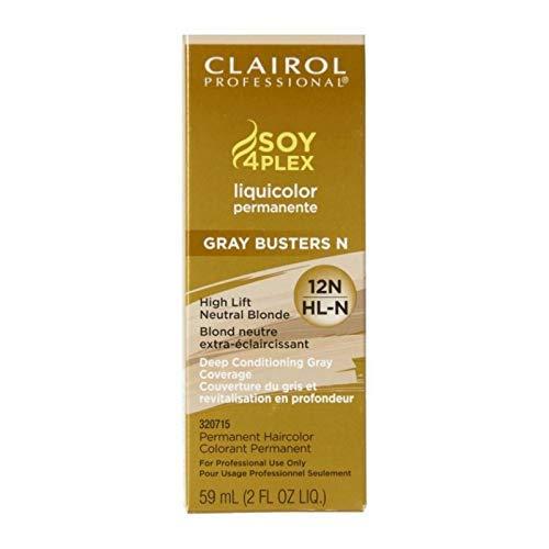 Clairol Blonde Lift (Clairol Professional Soy 4 Plex Liquicolor Permanent HL-N High Lift Neutral Blonde 59 ml (Haarfarbe))