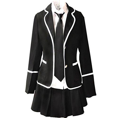 URSFUR Mädchen Japan Kostüm Langärmelige Anzug Cosplay Uniform Anime Uniform - Stil (Für Kostüme H&m Kinder)