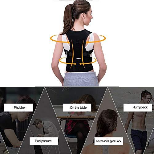 Zoom IMG-3 kindax correttore postura schiena regolabile