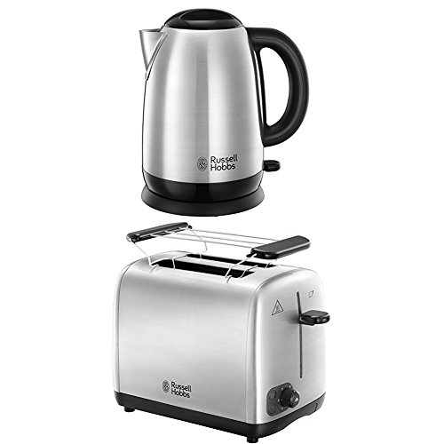 Russell Hobbs Adventure Glas Wasserkocher + Toaster