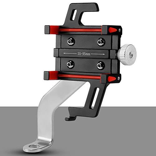 RMPH-Mobile Phone Holder Soporte Para Celular Para Bicicleta Aleación De Aluminio Ajustable Universal Soporte Para Teléfono De Bicicleta Para Manillar De Bicicleta Y Motocicleta Para IPhone XR, IPhone