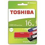 Toshiba THN-U302R0160MF TransMemory U302 16GB USB 3.0 rot/leer