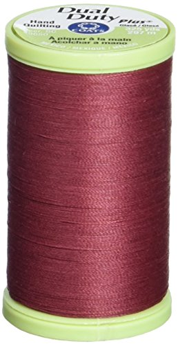 Coats Double Duty Plus Quilting main Thread 325 verges-vinette rouge