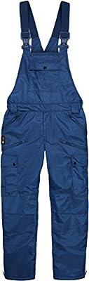 Winter Herren Thermo Latzhose, gefüttert, wind- und wasserdicht, 6 Reißverschlusstaschen von normani - Outdoor Shop