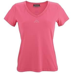 Kappa Damen T-Shirt Halona, hot pink, M, 302551