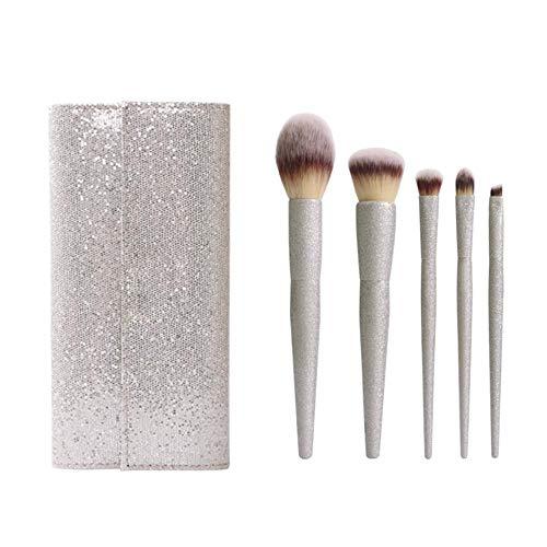 Pearl Powder, Sandblasting Handle, Makeup Brush, Loose Powder, Blush Brush, Plastic Handle, Makeup Brush, Eyelash. -