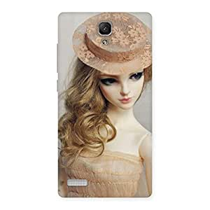 Special Royal Doll Multicolor Back Case Cover for Redmi Note 4