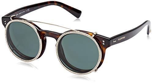Valentino Damen 0VA4009CB 500271 47 Sonnenbrille, Braun (Havana/Smoke Green),