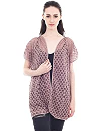 Forever9teen Solid Lace Fabric Short Sleeve Jacket_1SS16-0196-J9-P