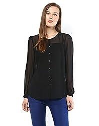 ONLY Womens Body Blouse Shirt (15106917_36_Black)