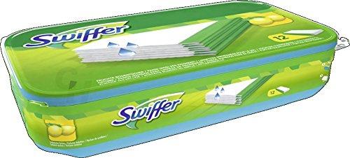 Preisvergleich Produktbild Swiffer Wet Feuchte Wischtücher Bodentücher Nachfüllpackung 12er
