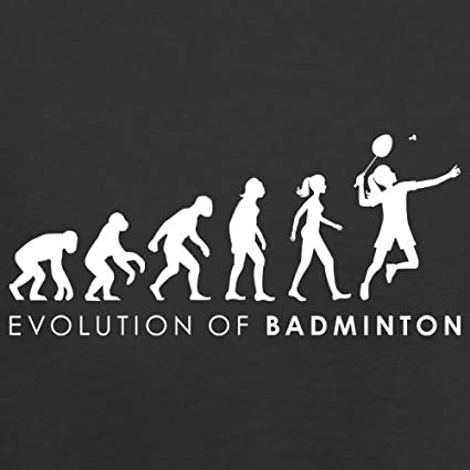Evolution of Woman - Badminton - Damen T-Shirt - 14 Farben: Amazon.de:  Bekleidung