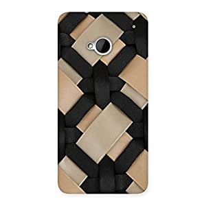Nyl Strap Print Back Case Cover for HTC One M7