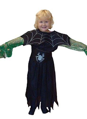 AN03 5-6 Jahre Hexenkostüm, Halloween Kostüm, Hexe Faschingskostüme, Hexe Karnevalskostüm, für Kinder, Jungen, Mädchen, für Fasching Karneval Fasnacht, auch als Geschenk zum Geburtstag oder Weihnachten (Kostüm Ideen Für Die 2 Besten Freunde)