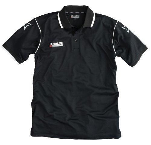 Derbystar Herren Polo-Shirt schwarz