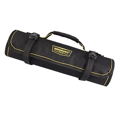 Dolity Professionelle Mechaniker Werkzeug-Rolltasche aus Oxford-Tuch -