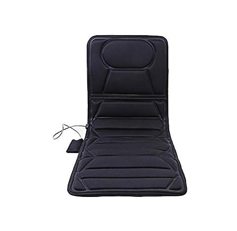 Healthcozy 1 x vibrant massager siège de voiture coussin de massage coussinet de vibration couvercle pour la cuisse arrière électrique vibrateur matelas Far-Infrared Chauffage thérapie cou dos coussin de massage relax soins de santé