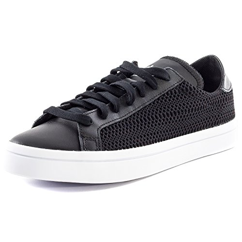 adidas Court Vantage Femmes Trainers Black White