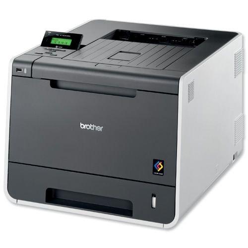 Brother HL-4150CDN Farblaserdrucker (2.400 x 600 dpi, USB 2.0, Duplex) anthrazit/grau