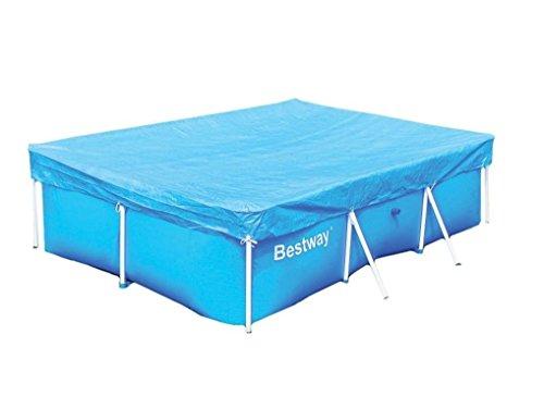 Telo copertura per piscina frame bestway 58105 cm 259 x for Riparare piscina