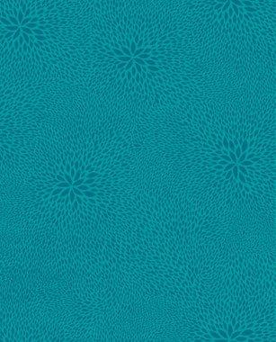 DecoPatch 1.653,5cm Blaugrün Blumen Muster Tabelle