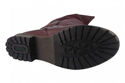 Remonte Damen R3382 Reitstiefel Rot (Chianti/burgund)