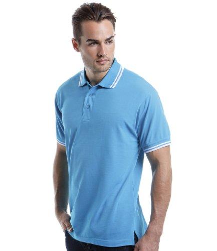 Kustom Kit - Polo -  Homme Bleu - Bleu clair