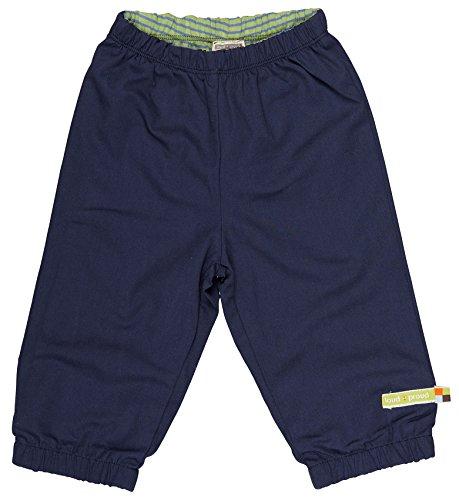 loud + proud Unisex Baby Regenhose Wasserabweisende Hose, Blau (Midnight Mi), 80 (Herstellergröße: 74/80)