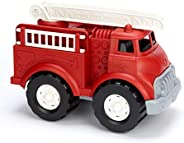 Green Toys Fire Truck Frustration Free Packaging, Multi-Colour, Ftk01R-Ffp