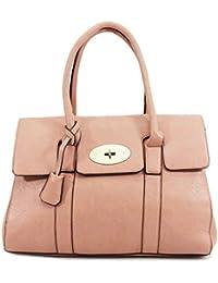 ea5940bfd684 Womens Designer Frame Office Tote Bag Ladies Handbag Work Shoulder Bag New  UK