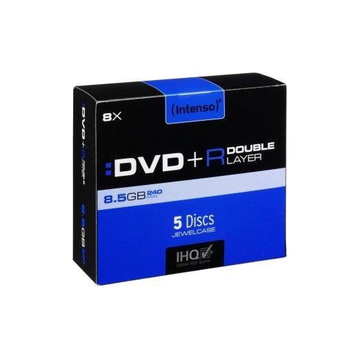 Intenso DVD+R 8.5GB 4X (5) 4311245 Jewel Case