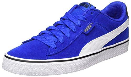 Puma Unisex-Kinder 1948 Vulc Jr Sneaker, Blau (Lapis Blue-White), 37 EU (Mädchen Basketball Schuhe)
