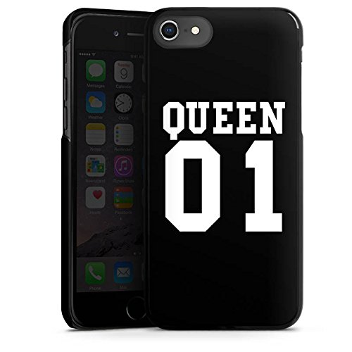 *Apple iPhone 7 Hülle Case Handyhülle Queen 01 Koenigin Paerchen*