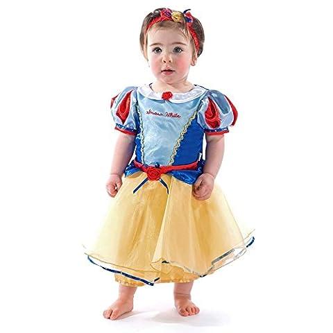 Officiel Disney Princesse bébé Robe pour enfant Blanc Neige de