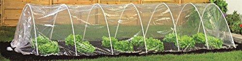 Harbour Housewares Serra di Coltura in Polietilene, per Verdura/Frutta, Trasparente, da 5 Metri