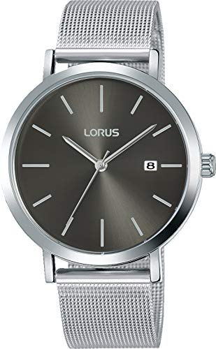 Lorus Hommes Analogique Quartz Montre avec Bracelet en Laiton RH919KX9