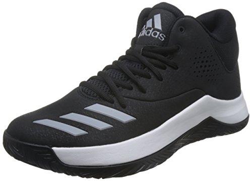 Adidas-basketball-schuh Schwarz (adidas Herren Court Fury 2017 Basketballschuhe, schwarz (Negbas/Gridos/Ftwbla), 44 EU)