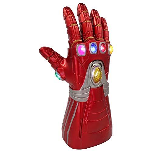 Gauntlet Thanos Handschuh Cosplay Thanos Requisiten, Avengers Endspiel Iron Man Infinity Gauntlet Glove (LED) (A1 (für Erwachsene)) ()