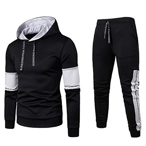 Herren Trainingsanzüge,Saingace Jumpsuit Jogger Jogging Anzug Tracksuit Trainingsanzug Overall