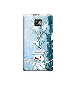 Ebby Premium Printed Back Case Cover With Full protection For Samsung I9100 Galaxy S II (Designer Case)