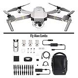 DJI Mavic Pro Platinum Fly More Combo (Versión UE) - Dron Quadricóptero, Nivel de Ruido 4 dB,...