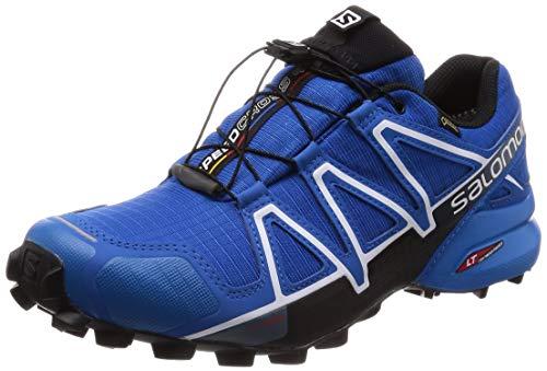 Salomon Herren Trail Running Schuhe, SPEEDCROSS 4 GTX, Farbe: blau (Sky Diver/Indigo Bunting/Black) Größe: EU 42 2/3