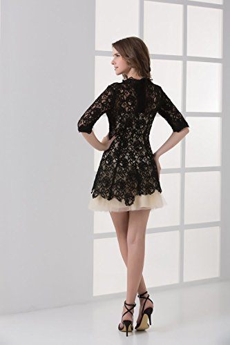 Bridal_Mall - Robe - Sans Manche - Femme Noir