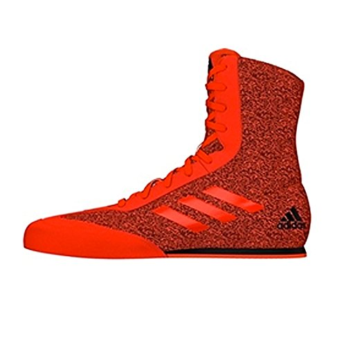 Adidas Box Hog Plus Herren Schuhe Senior Boxen Stiefel, rot / schwarz, 42,5