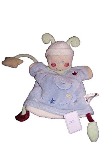 Kiabi–Doudou Kiabi kitchoun gnomo Marionette azul...